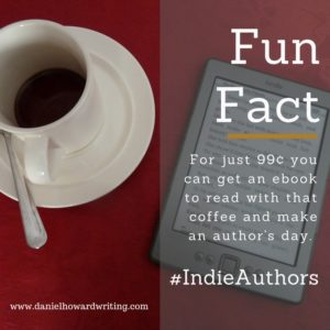 indie books and coffee